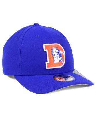 super popular ed29d 87dc0 New Era Denver Broncos Historic 9FORTY Cap - Blue Adjustable