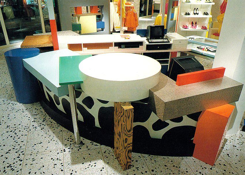 Ettore Sottsass Esprit Cologne 1986 Memphis DesignGame DesignDesign ArtInterior DesignStore