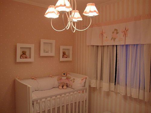 quarto de bebe rosa e marrom - Pesquisa Google