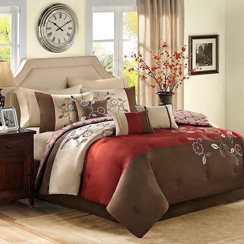 Walmart Bedroom Sets Simple Better Homes And Gardens 7Piece Bedding Comforter Sets Bedding Decorating Design