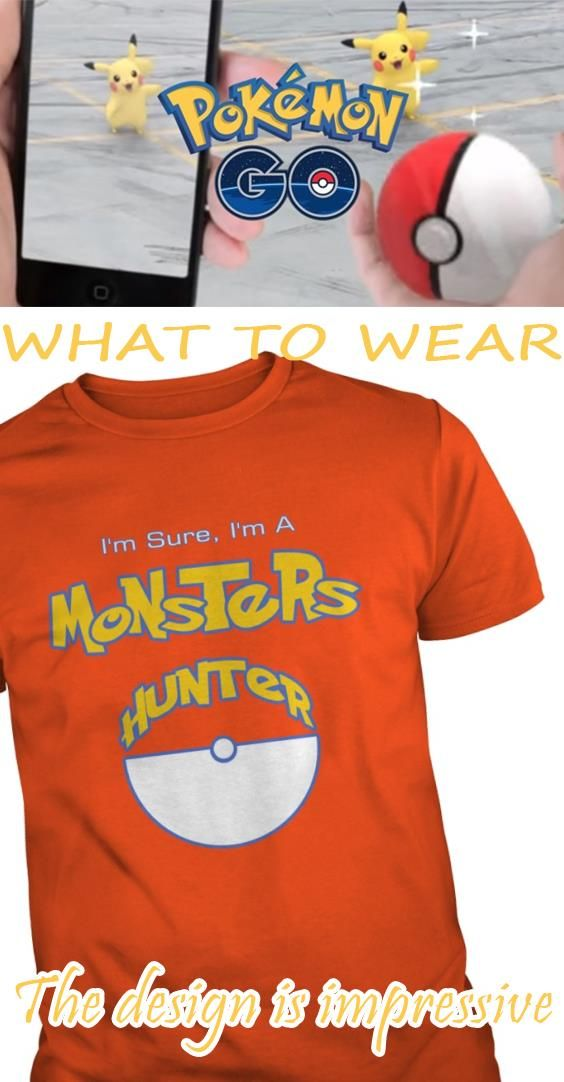 af568bcb Are you pokemon fan This tshirt made for you Buy this Monster Hunter, Quái  Vật