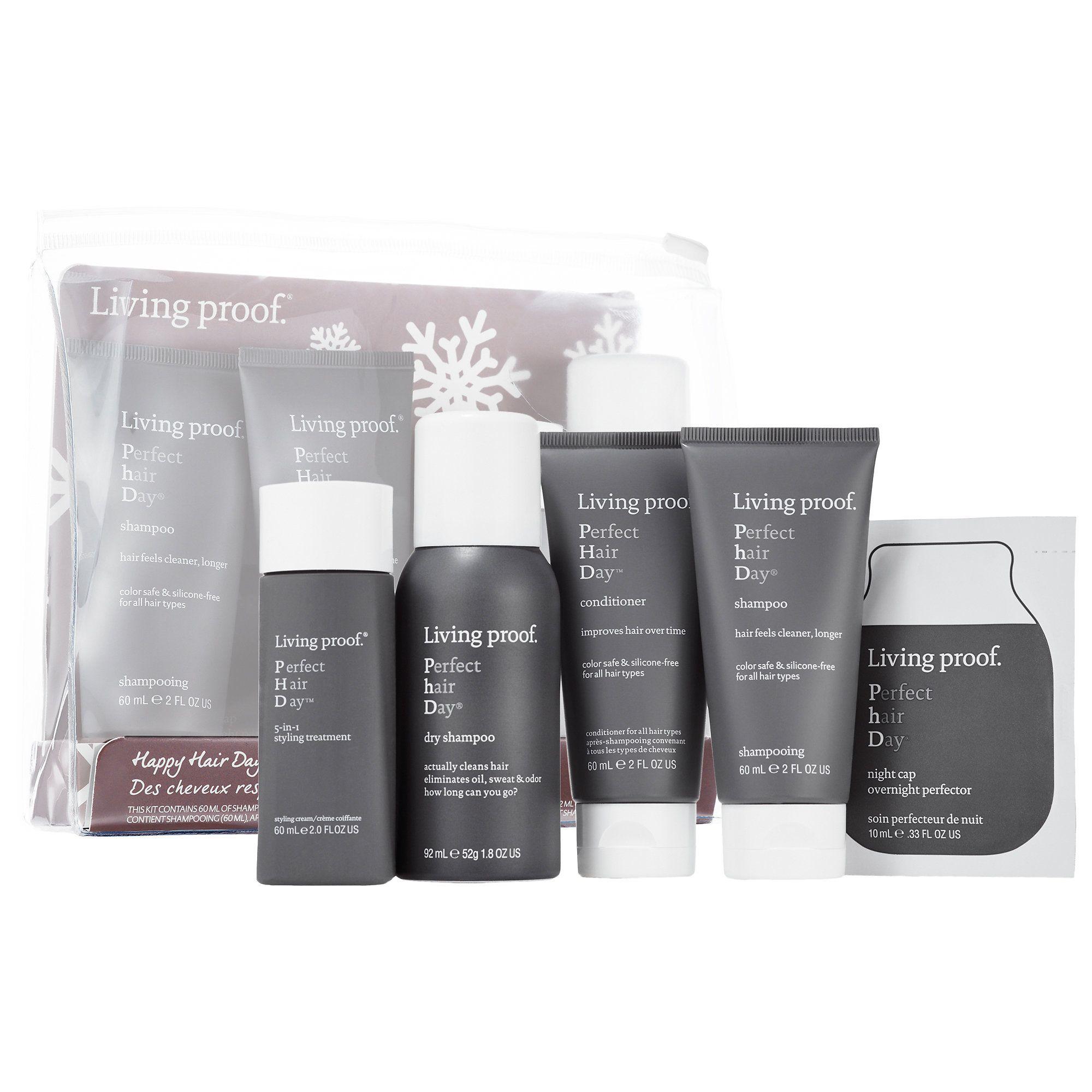 Sephora Living Proof Happy Hair Days Kit haircare