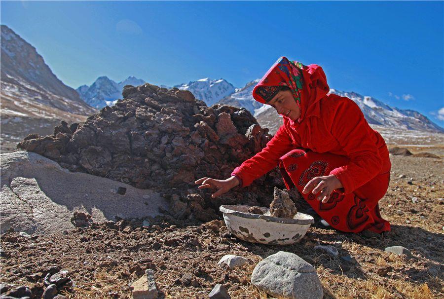 A Tajik woman