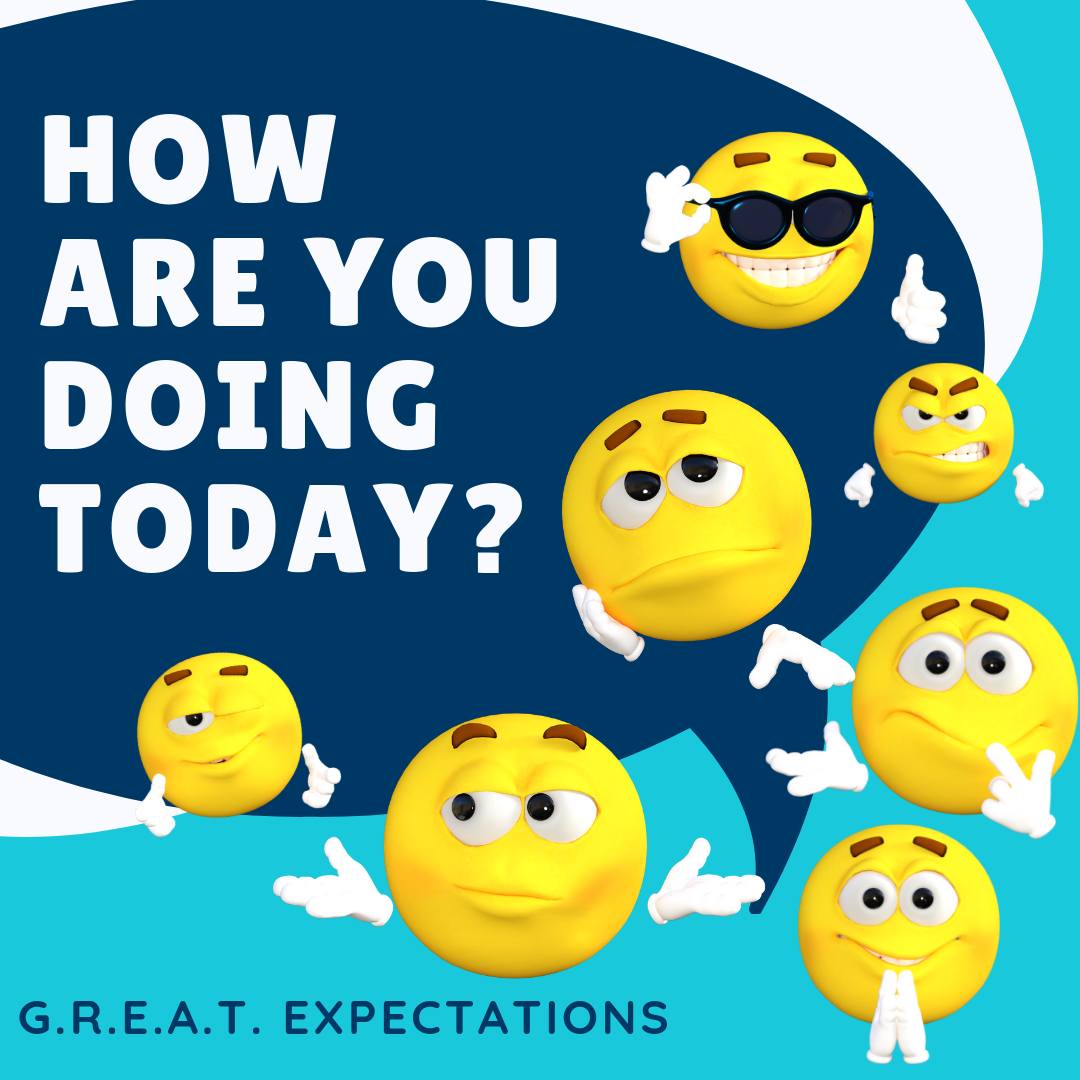 motivationalmondays #greatexpectations How are you doing today? NO ...