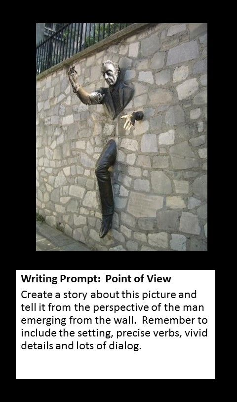 0010 Writing Prompt Perspective Photo writing prompts