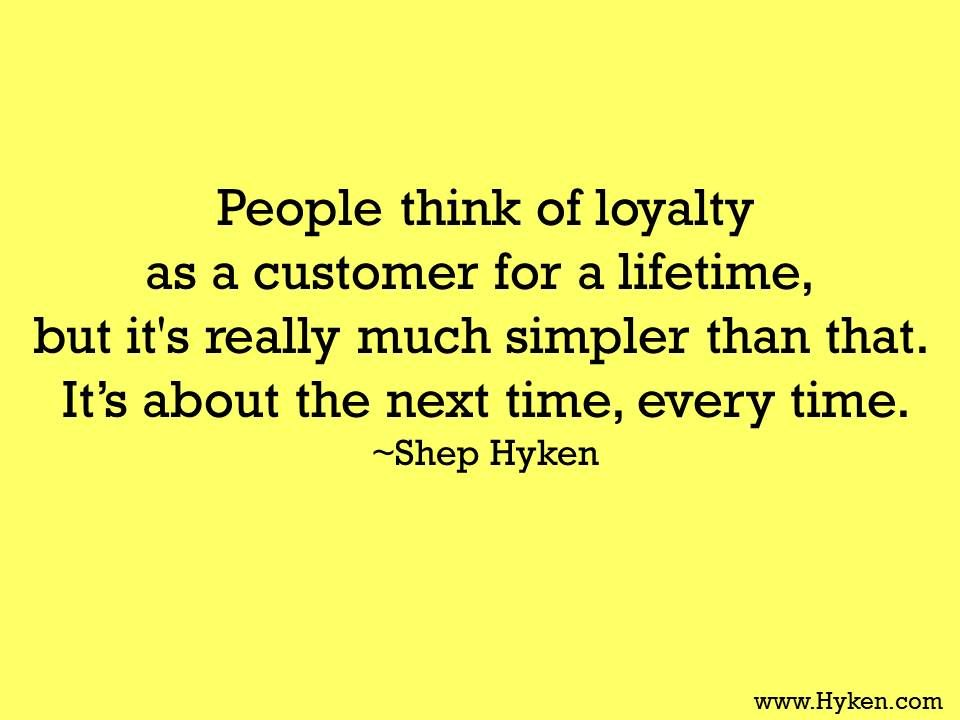 Customer Service Speaker And Expert Official Shep Hyken Site Customer Service Quotes Loyalty Quotes Manager Quotes