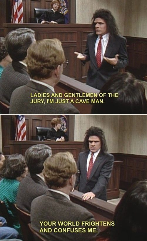 Unfrozen Caveman Lawyer One Of My All Time Favorite Snl Skits