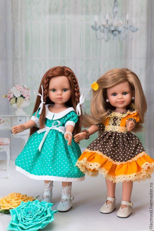 Платья для девочек и куклы