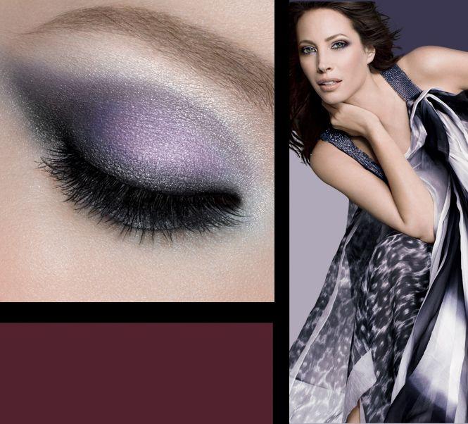 smokey purple look from Maybelline's Indian Summer eyeshadow duo
