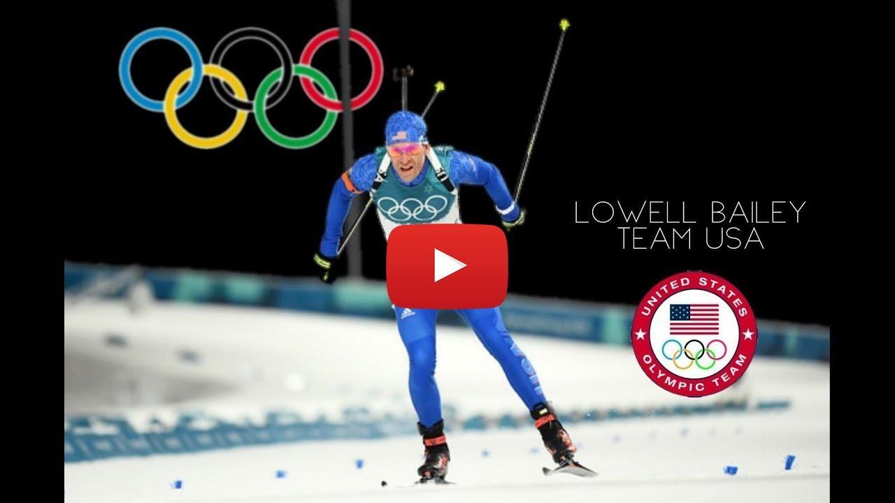 NBC Sports David Feherty Biathlon Olympian Lowell Bailey