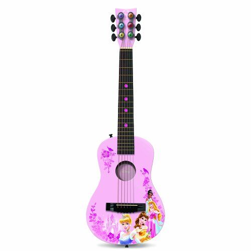 Princess Dp705 Acoustic Guitar Learn To Play At A Young Age With First Act S Guitar It Has A Traditional Body Which Emits Gre Acoustic Guitar Guitar Acoustic
