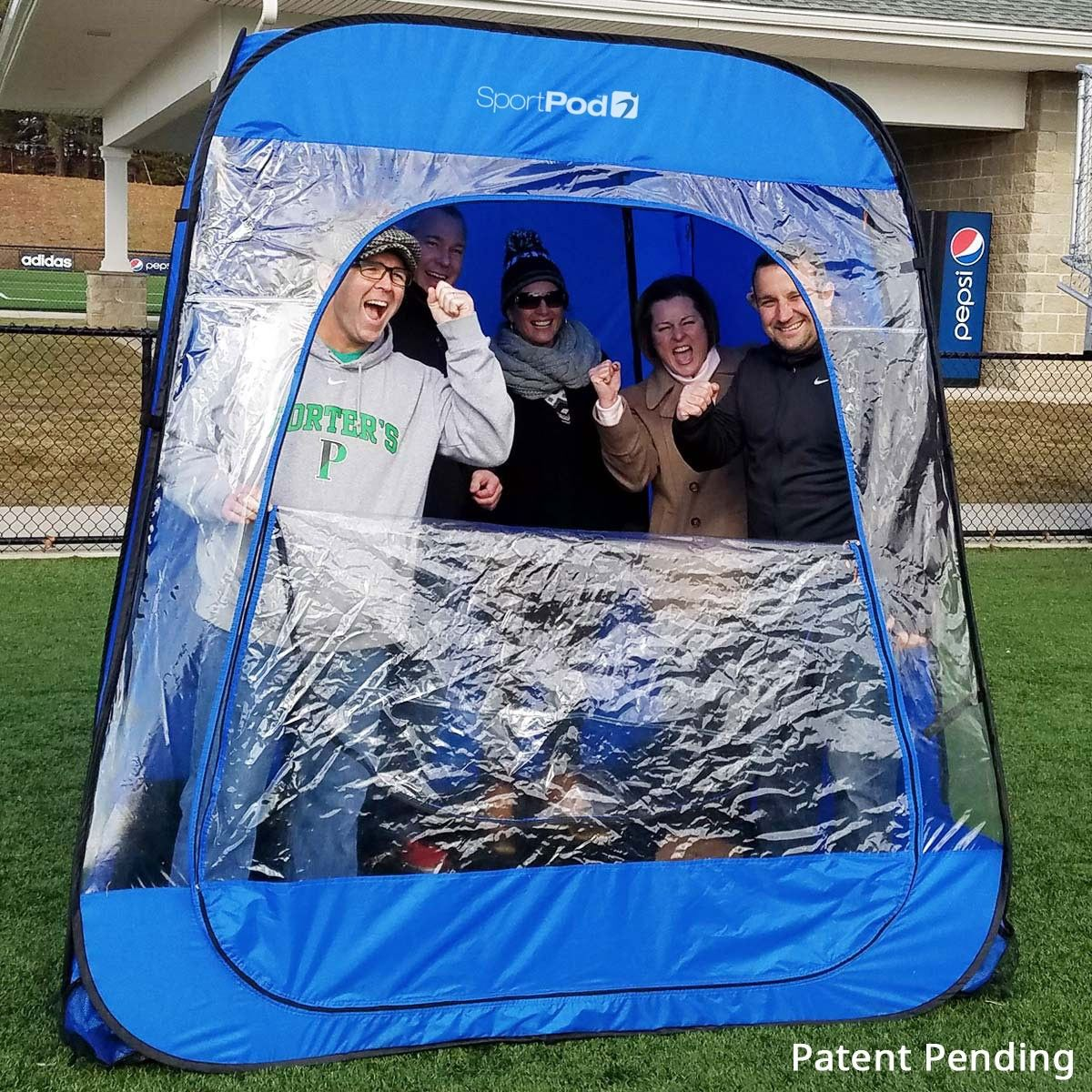 TeamPod™ UnderCover™ All Weather SportPod™ Pop Up Chair Tent & TeamPod™ UnderCover™ All Weather SportPod™ Pop Up Chair Tent ...