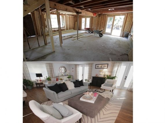 Paint Color In Lr Drew And Jonathan Scott S Favourite Before After