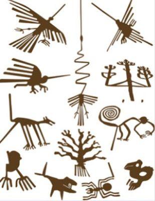 Quelques g oglyphes de nazca p rou free pinterest p rou tatouage de symboles et tatouages - Symbole amerindien tatouage ...