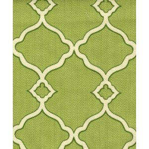 """Fabric for Upholstery Green Trellis 54"""""""