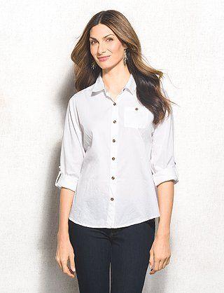 Button-Down Pocket Shirt