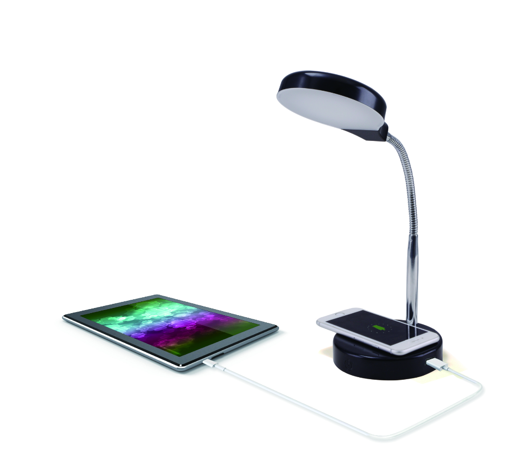 Free 2day shipping. Buy Mainstays LED Desk Lamp with Qi
