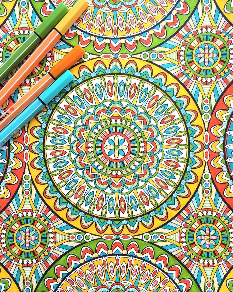 2016 Coloring Calendar + The Super Awesome Coloring Book | Coloring ...