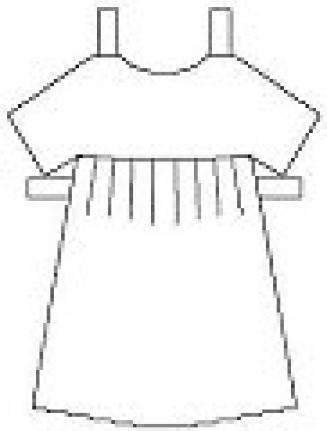 Print Out and Cut These Free Paper Dolls, Clothes, and Accessories - thermometer template