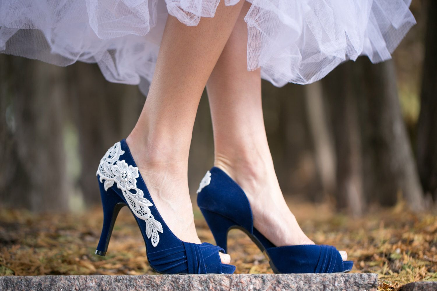 Blue wedding shoes blue bridal shoes blue wedding heels blue