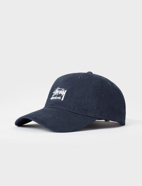 New Stussy Washed Stock Lo Pro Mens Strapback Cap Hat