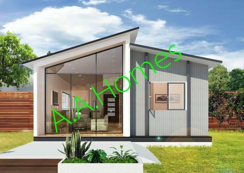 Eirene 2 bedroom 60m² steel frame kit home or Granny Flat
