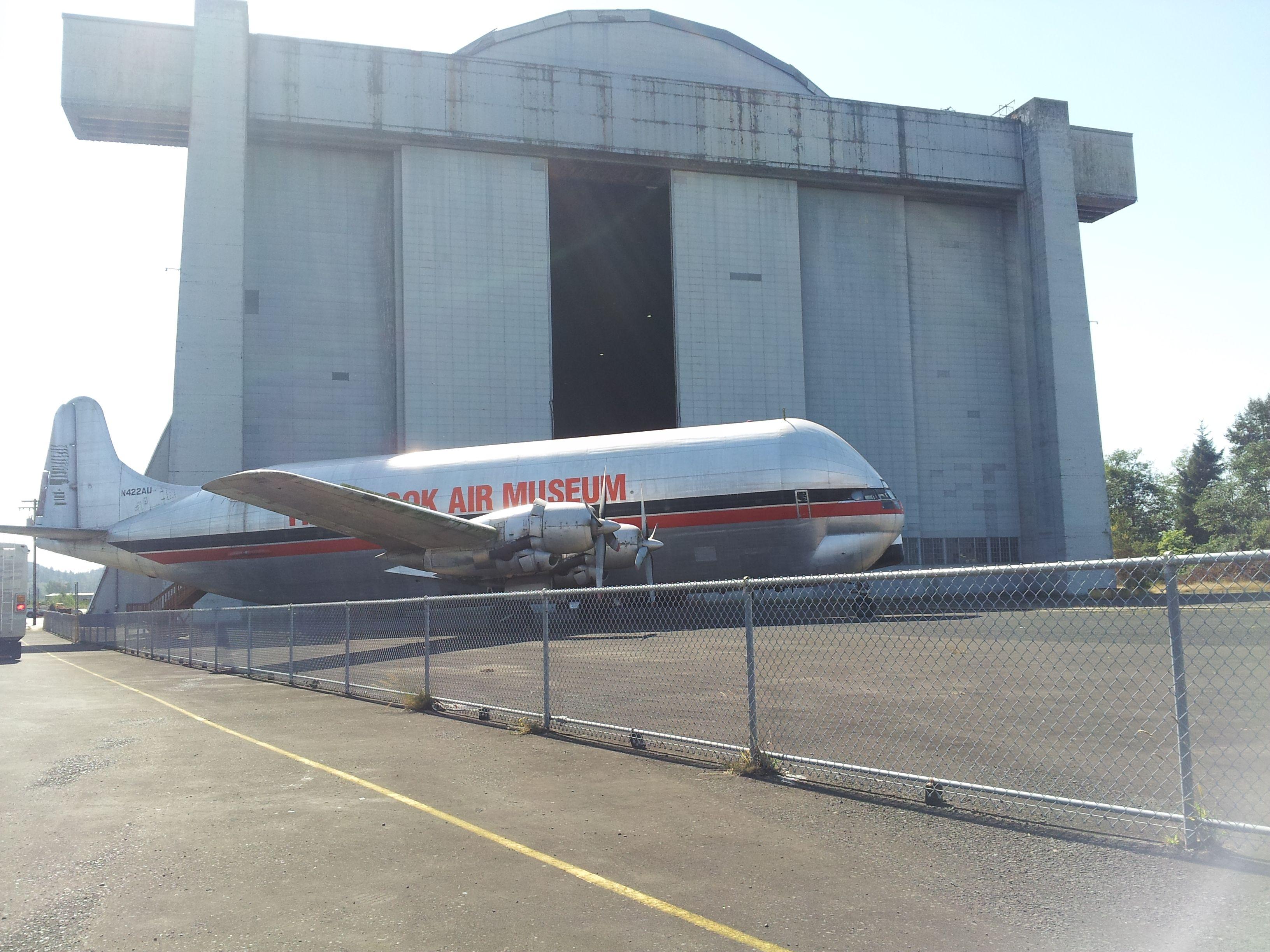 Tillamook Air Museum, a converted WWII blimp hanger filled