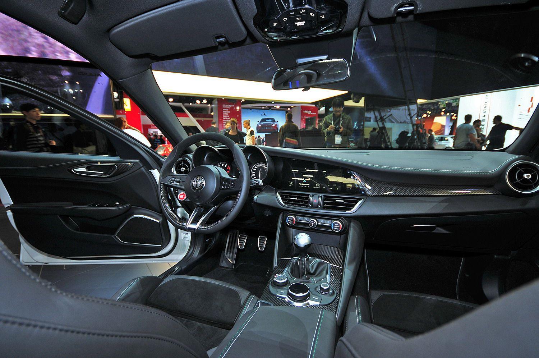 2018 alfa romeo giulia review 2018 cars release 2019 - Alfa romeo giulia interior dimensions ...