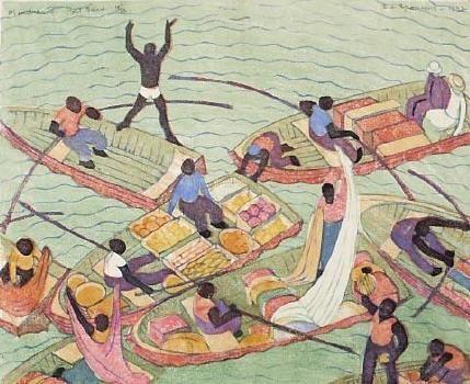 Merchants, Port Said  Ethel Spowers 1890-1947