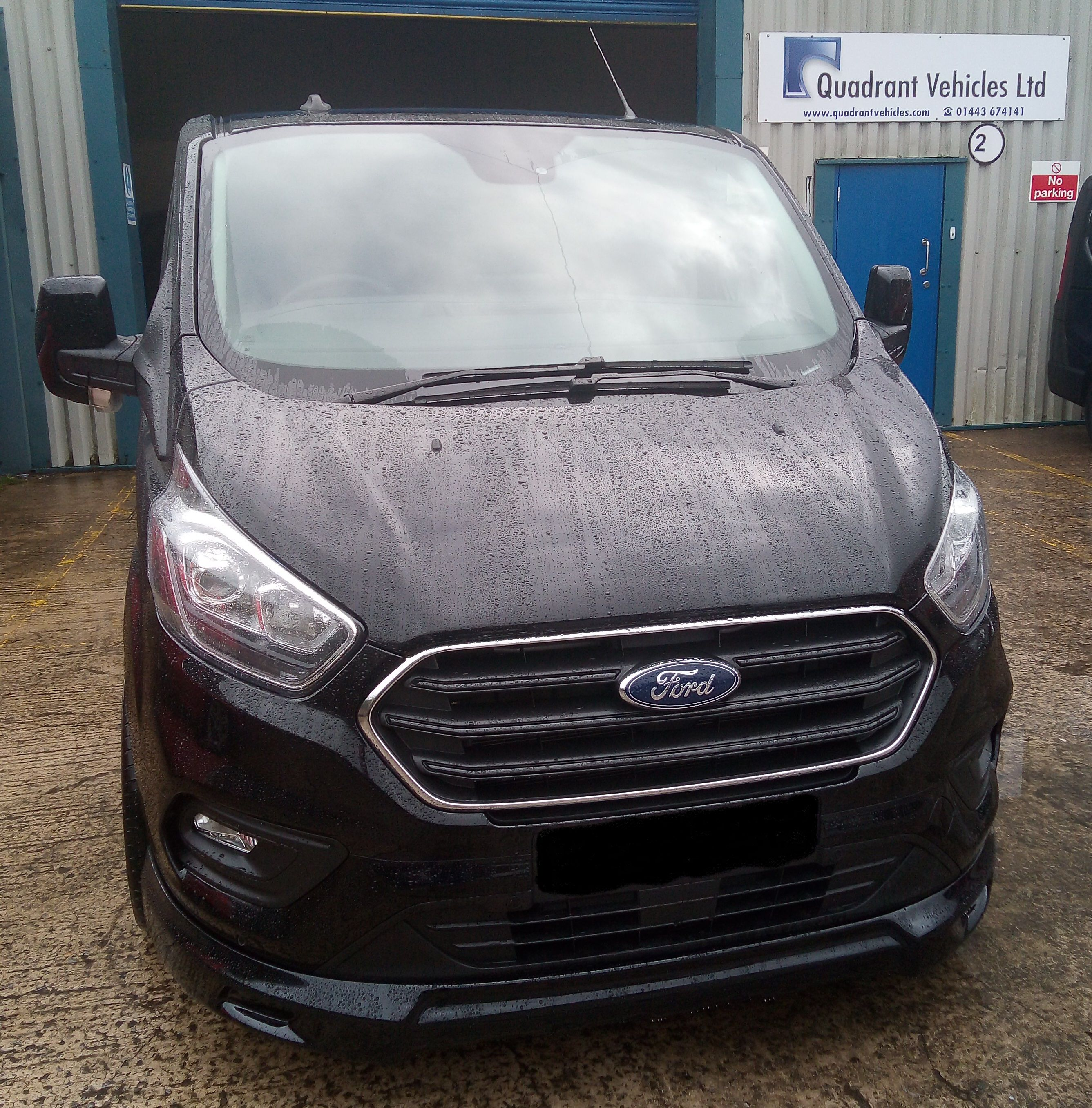 Another Ford Transit Custom Q Sport Double Cab Awaiting Client