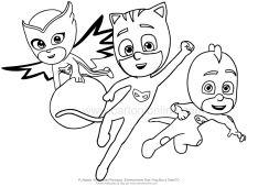 Disegno da colorare dei PJ Masks - Super Pigiamini ...