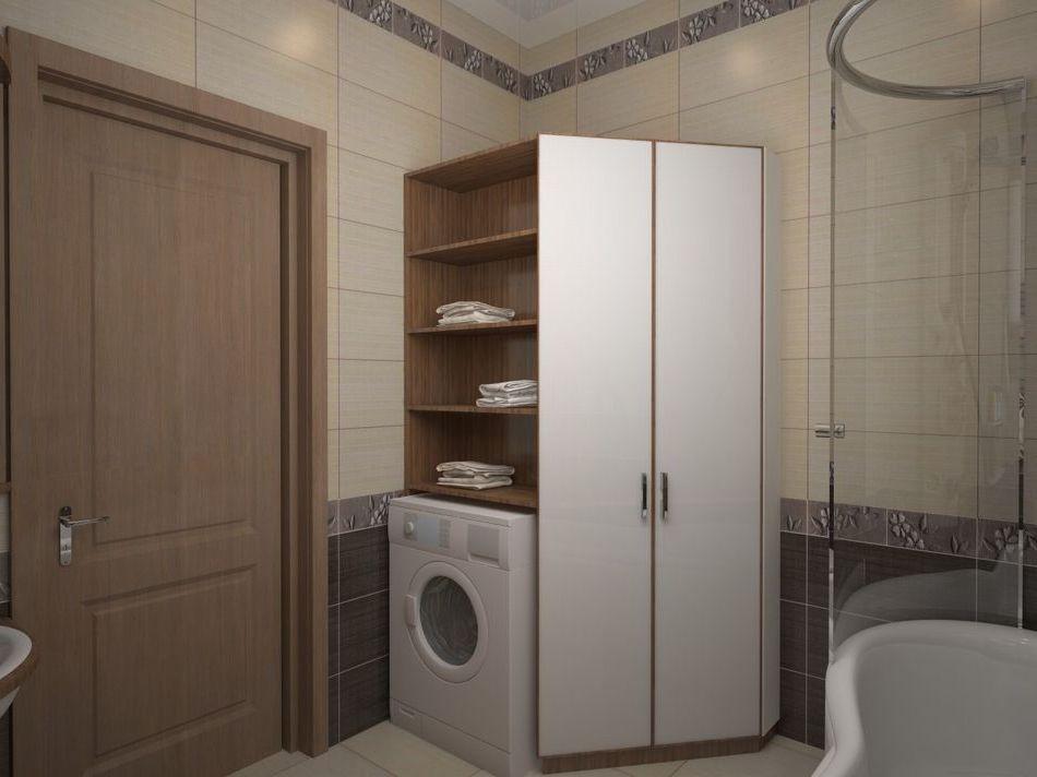 ванная комната – мебель с  встроенной  стира… Balkon