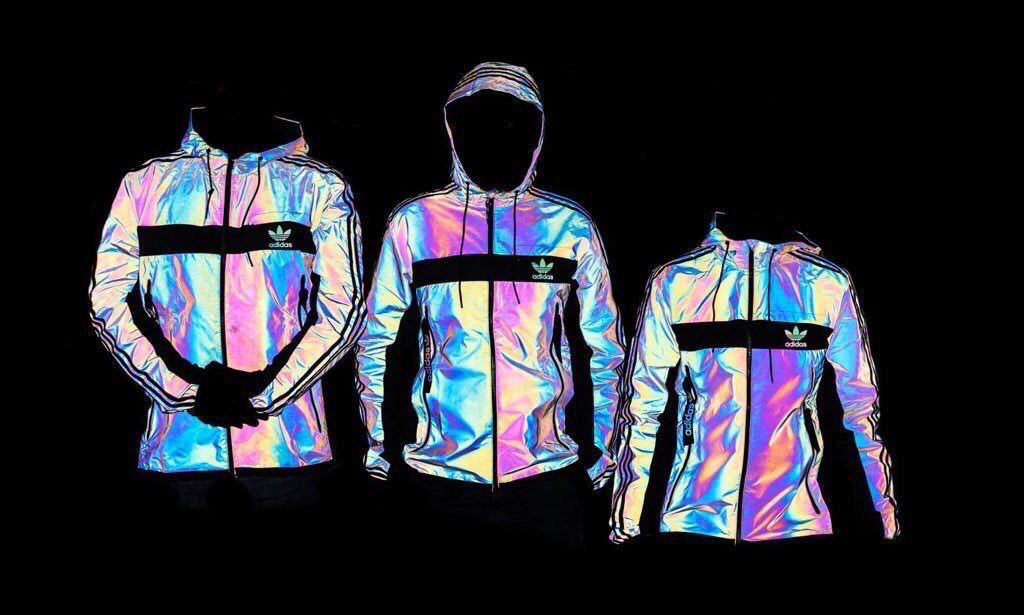 Holographic Adidas jacket | ClothesEverywhereeeee in 2019