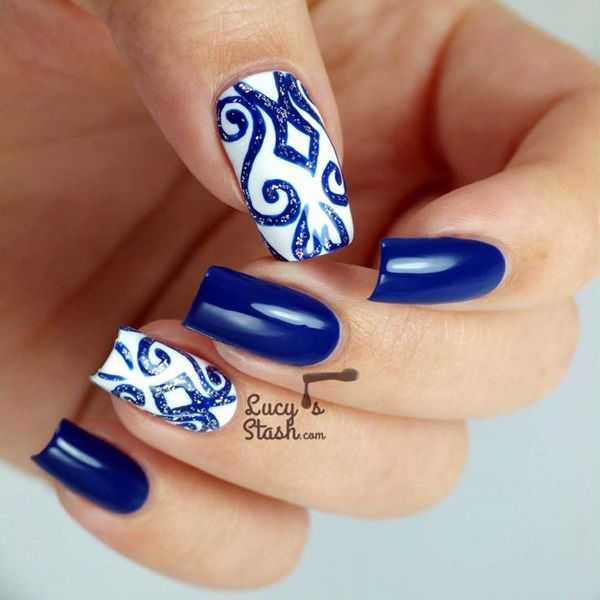 40 Inspirational Winter Nails Designs 2016 Nail design 2015