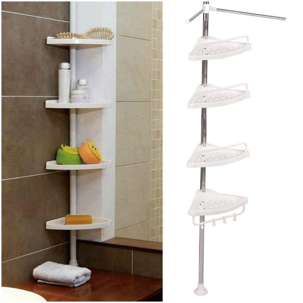 Bathroom Corner Shelf Corner Shelf Decor For Bathroom And Living ...