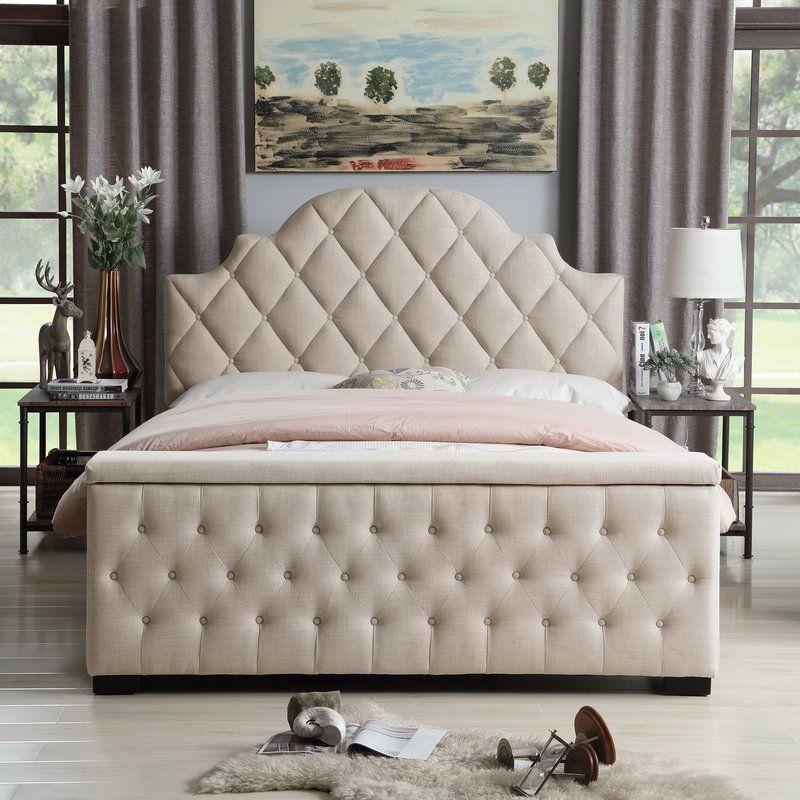 Thom Tufted Upholstered Storage Standard Bed Furniture