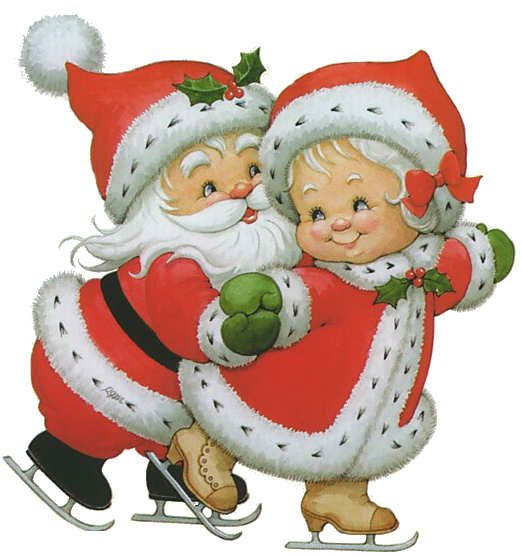 Papa Noel Santa Claus Imagenes Para Bajar Vintage Christmas Cards Christmas Pictures Christmas Art