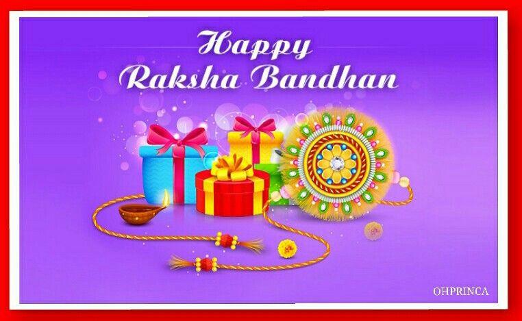 image relating to Raksha Bandhan Printable Cards named Pin as a result of OHPRINCA Presentation upon Rakshabandhan / Bhai Dooj