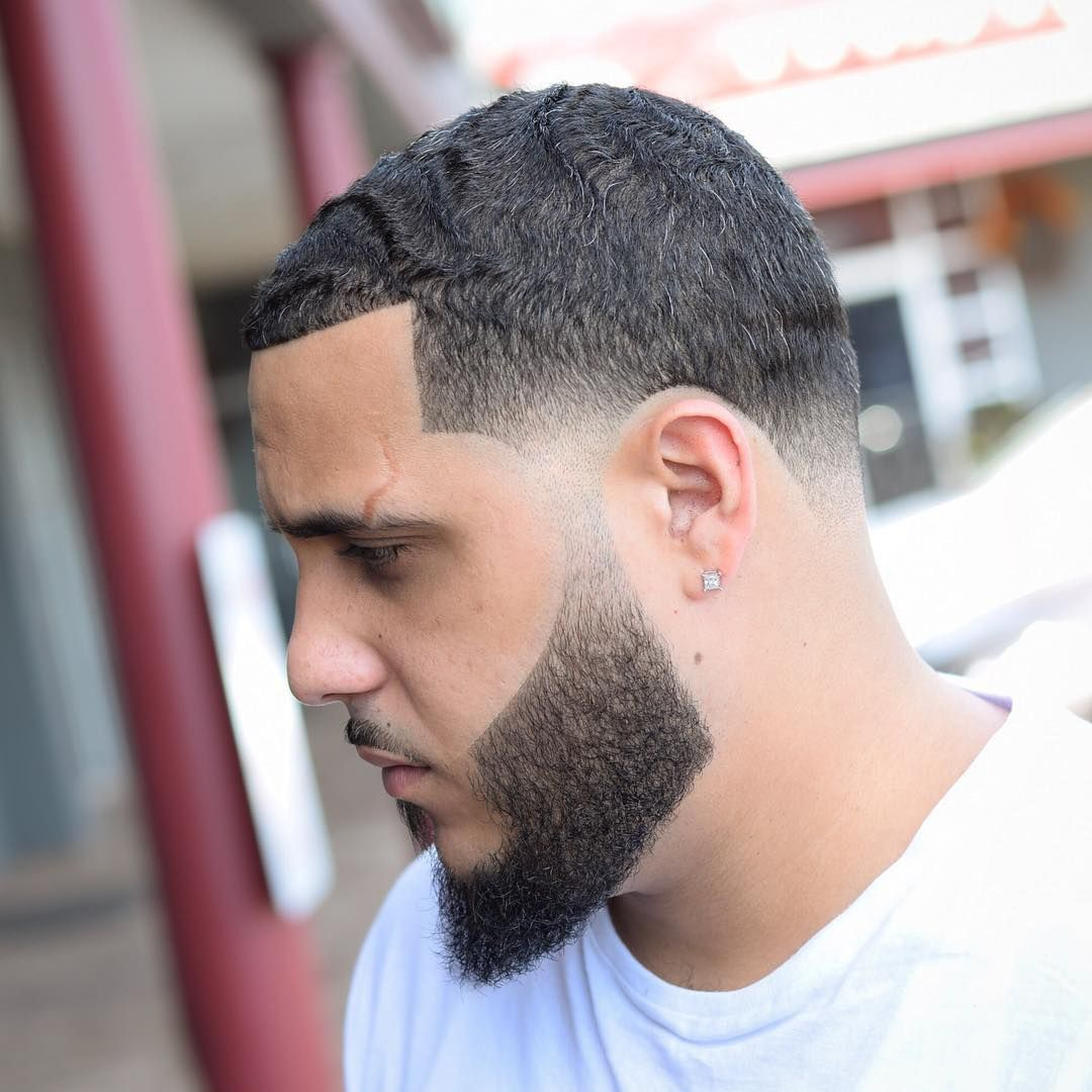 Short waves and taper fade haircut by barber jose crespo menshair
