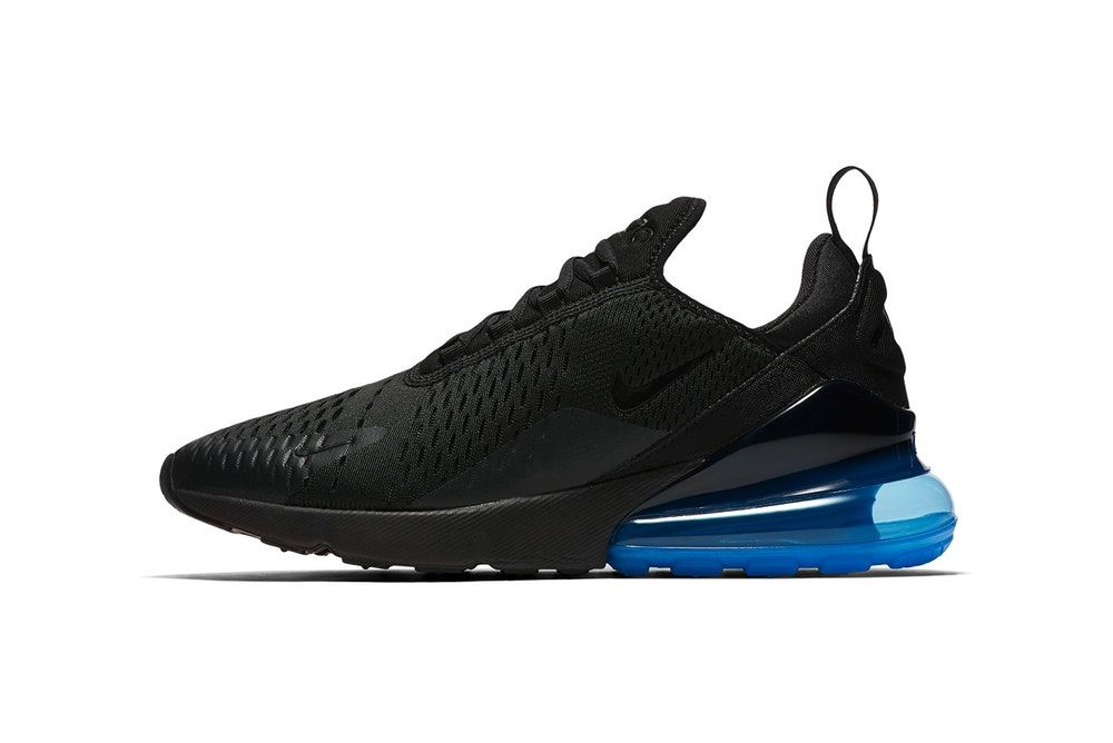 af95a5e2239 Nike Outfits the Air Max 270 in Black   Neon Green