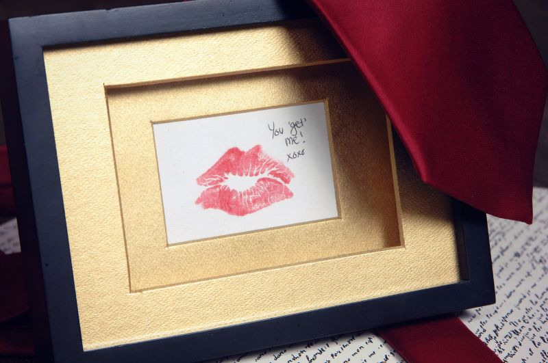 Domestic Bliss Squared Make A Personalized Romantic Gold Framed