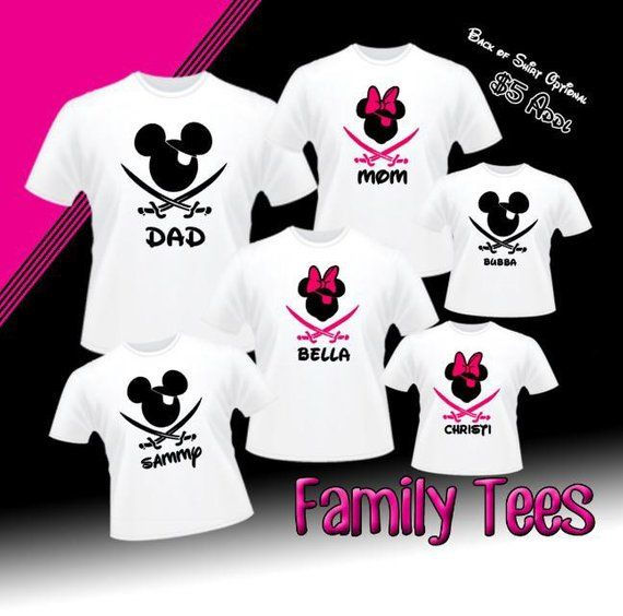81540426d Disney Family Cruise Shirts, Disney Family Shirts Pirate Night, Disney  Cruise Shirts