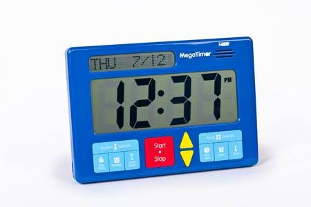 Mega Timer - Large enough to be seen from the back of the
