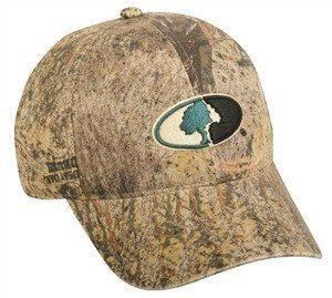 Mossy Oak Logo Camo Cap