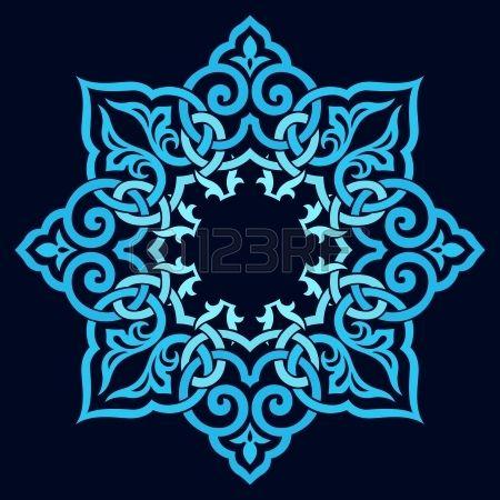 Vector - traditional Persian-Arabic-Turkish-Islamic Pattern