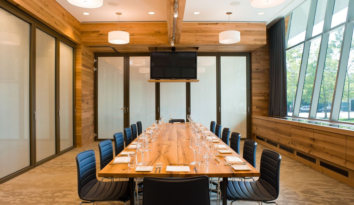 One Of Our Private Rooms, Franklin, Set At A Long Table For 14 With