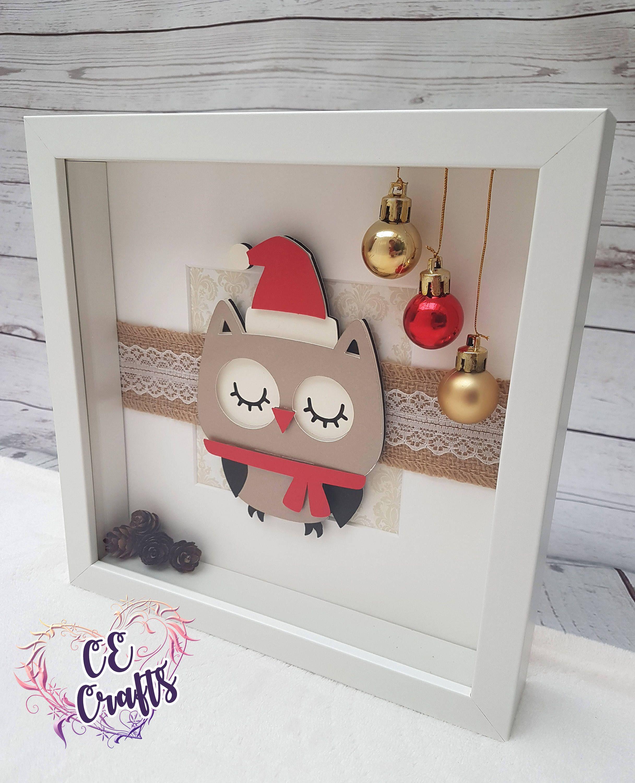 Christmas Gift Idea Christmas Box Frame