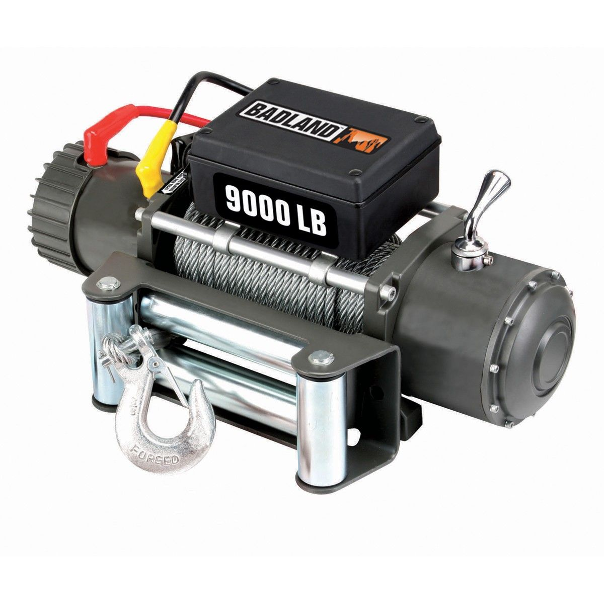 Badland Winches 68143 9000 lb. Off-Road Vehicle Winch with Automatic on harbor freight winch coupon, harbor freight electric winch, harbor freight badlands winch, warn 8000 lb winch,