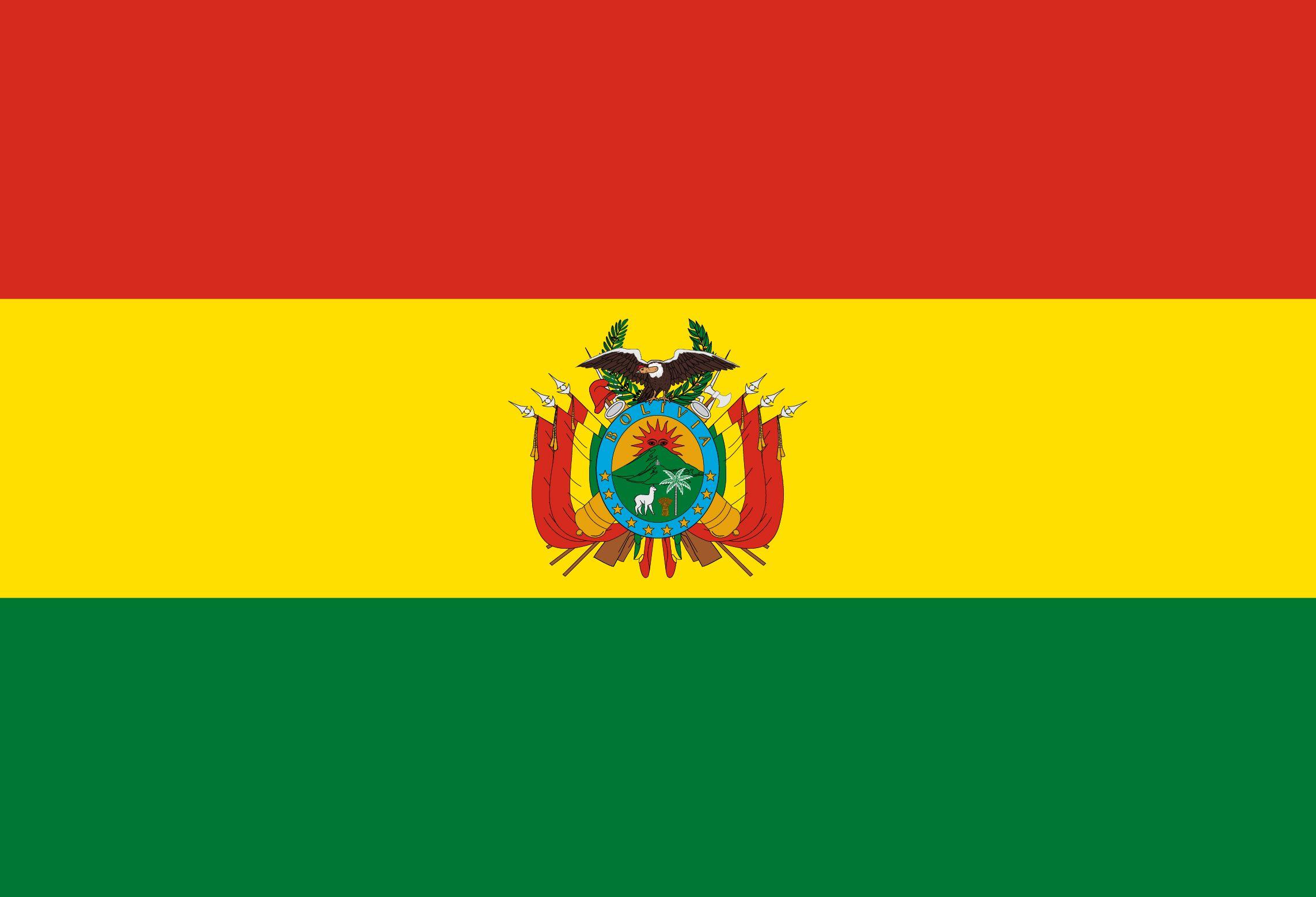 Bolivia Flag Bendera Amerika Uang
