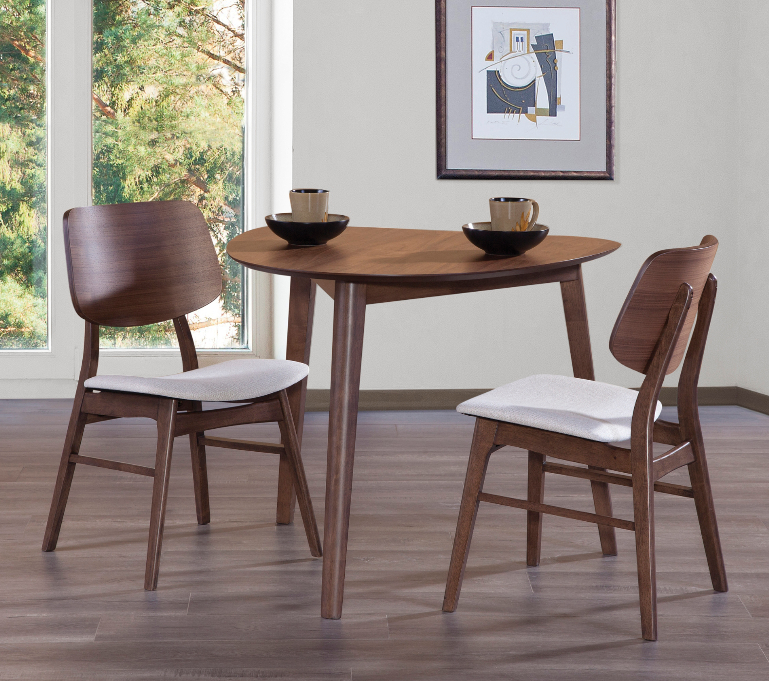 We Love A Corner Dining Set Like This One In Small Spaces So